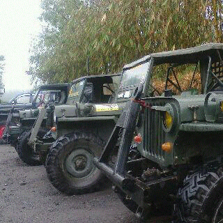 mt merapi jeep