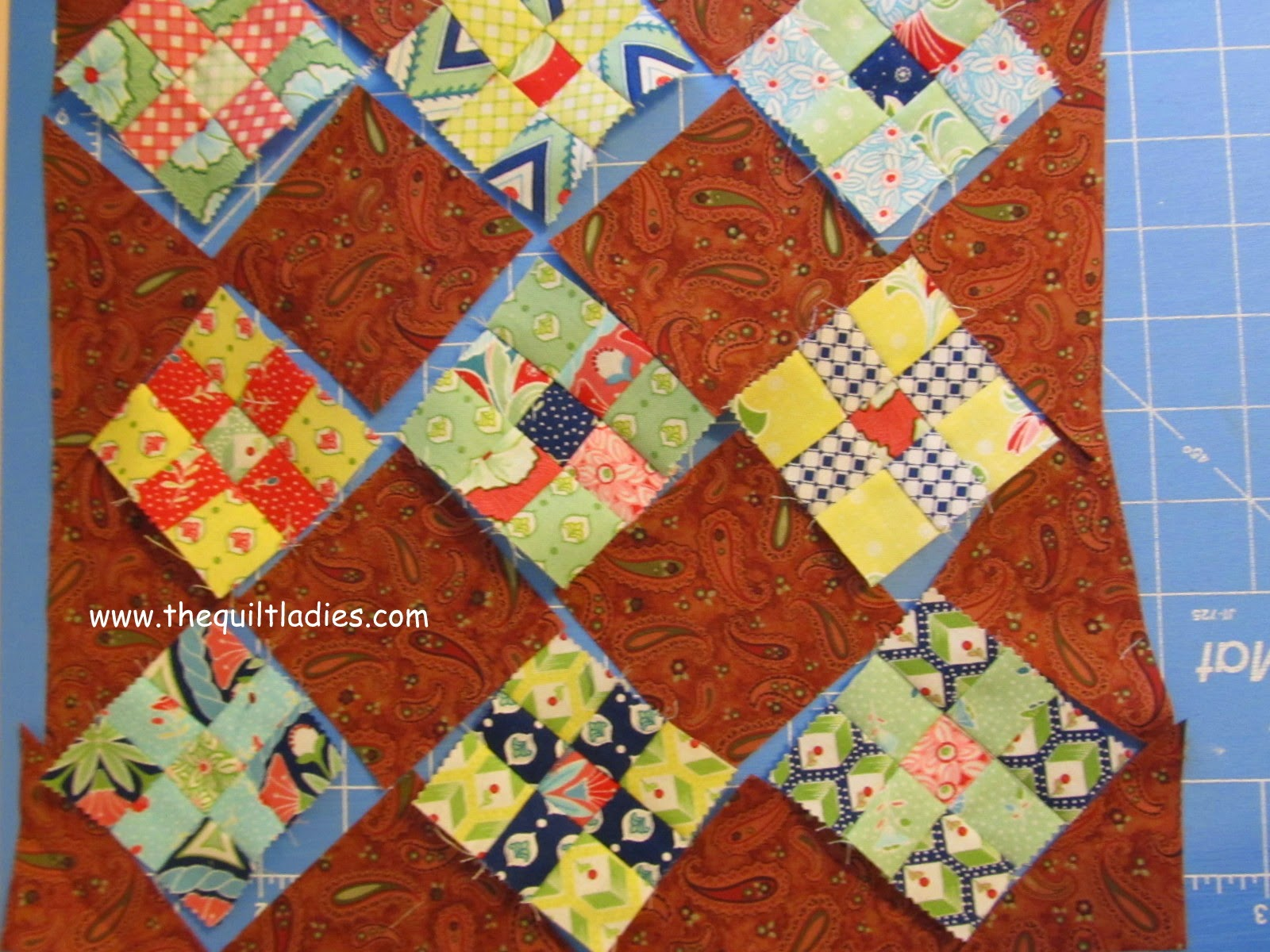 9-Patch Quilt Pattern Tutorial.