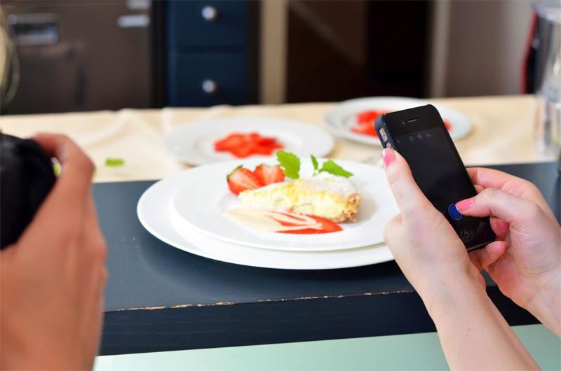 Foodblogger fotografieren Objekt der Begierde