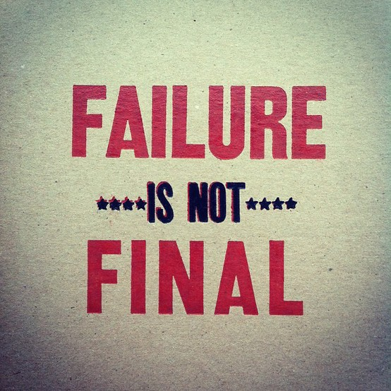 Exam Failure Quotes Failure Quotes Afraid of