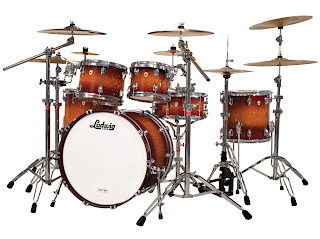 Ludwig Drum Set - Legacy Exotic Lacewood