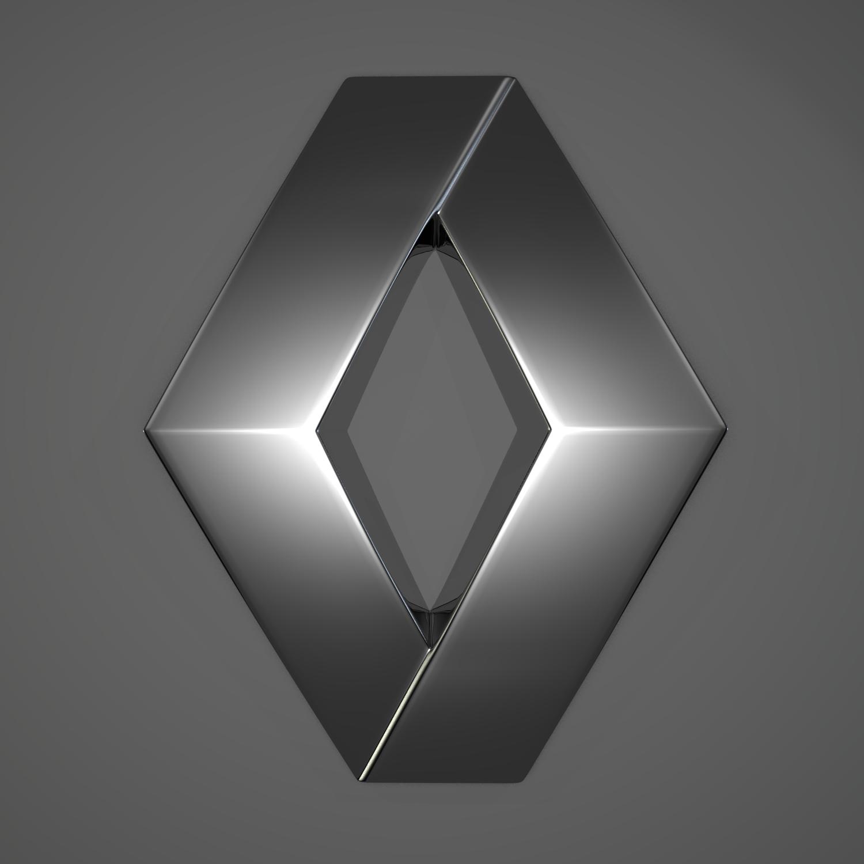 French Car Company Diamond Logo
