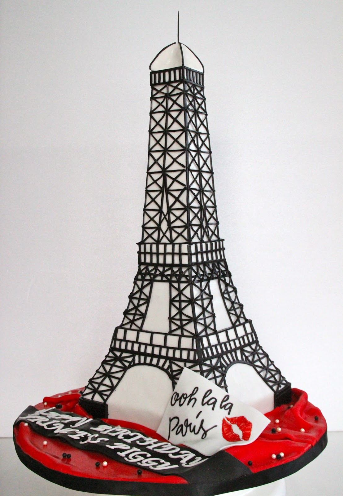 Celebrate with Cake!: Eiffel Tower Cake