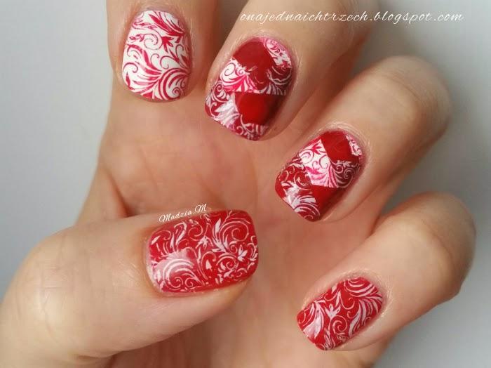 My Nails Blog Niech Będzie Czerwono Czyli Czerwone Paznokcie