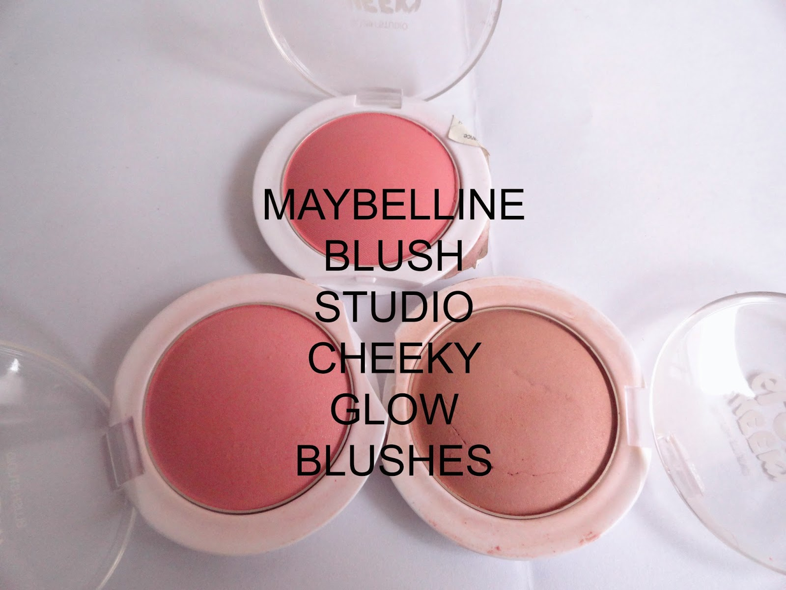 The Complete Set: Maybelline Blush Studio Cheeky Glow Blushes image