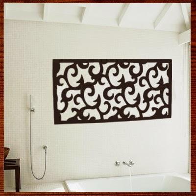 Quadros abstratos com relevo