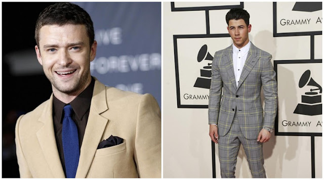 """Nick Jonas y Justin Timberlake están entre los """"Hombres más sexy"""" de la revista People."""