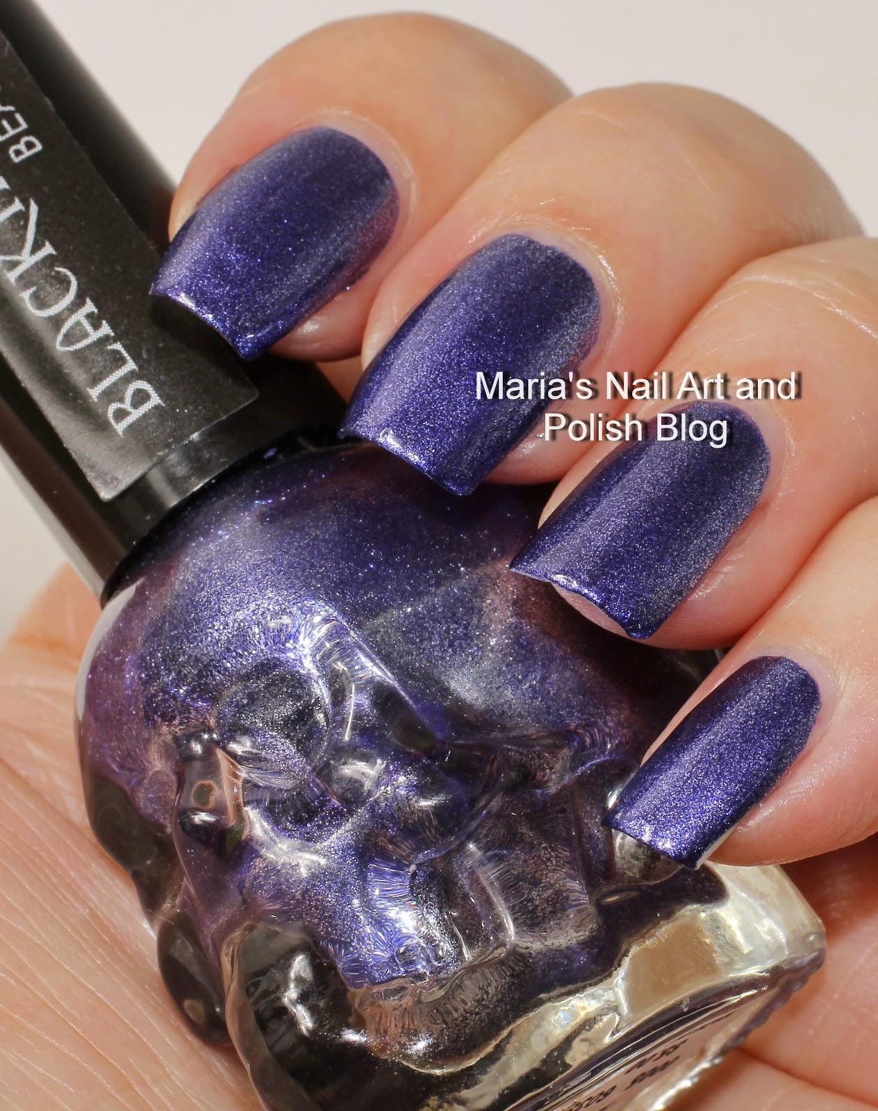 Marias Nail Art and Polish Blog: Black Heart swatch spam