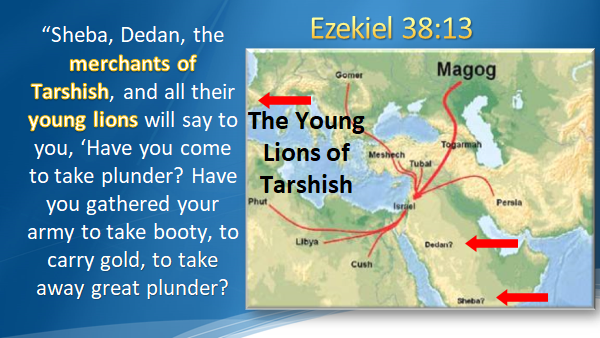 Is AMERICA in EZEKIEL 38?