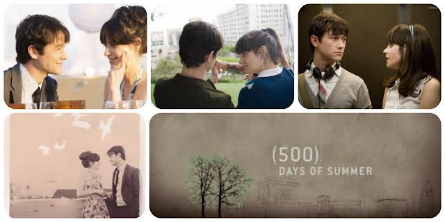 500 days of Summer - 500 días de verano - Zooey Deschanel y Joseph Gordon Levitt