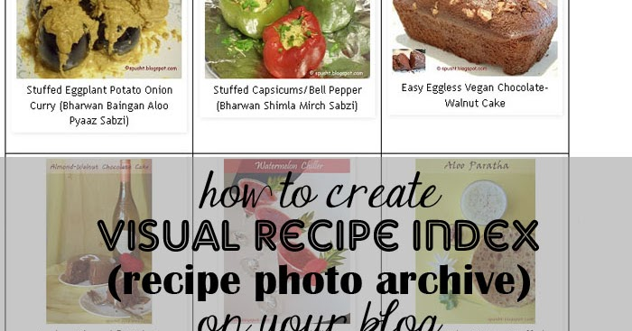 Spusht create photo index make browsing easier blogging tip 6 forumfinder Choice Image