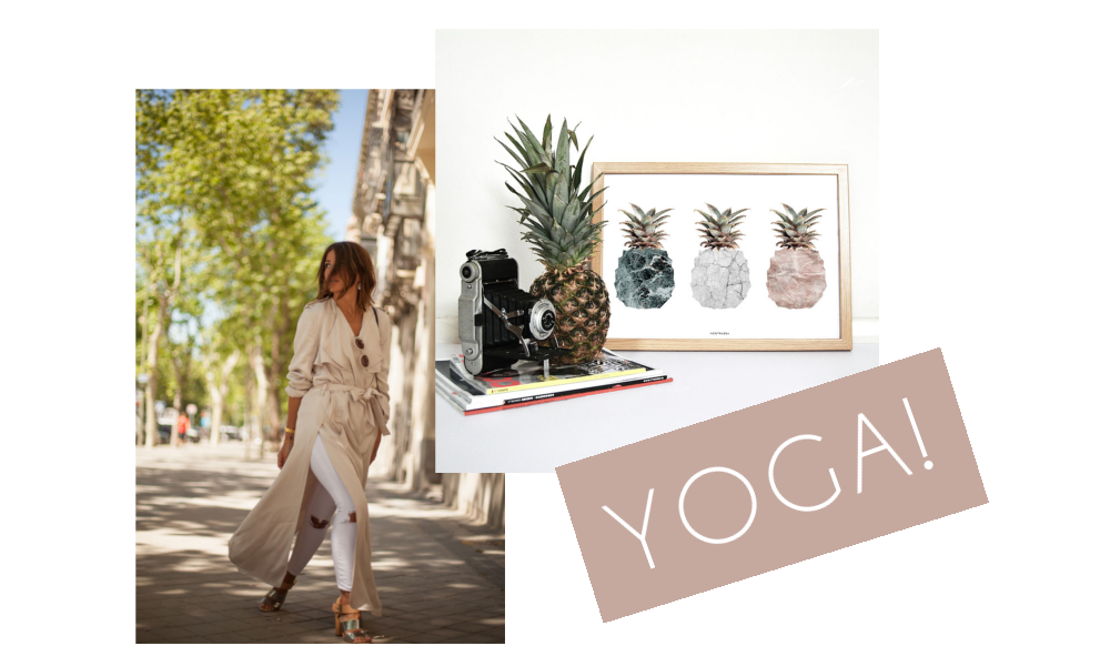#clicksoftheweek: Content Calendar, Yoga Challenge, the perfect trench