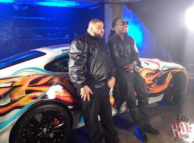 "dj khaled lil wayne future ti ace hood models bottles video shoot9 Photo Updates: Behind The Scene On Set Of DJ Khaled, Lil Wayne, Future, T.I. and Ace Hood's ""Models and Bottles"" Video Shoot"
