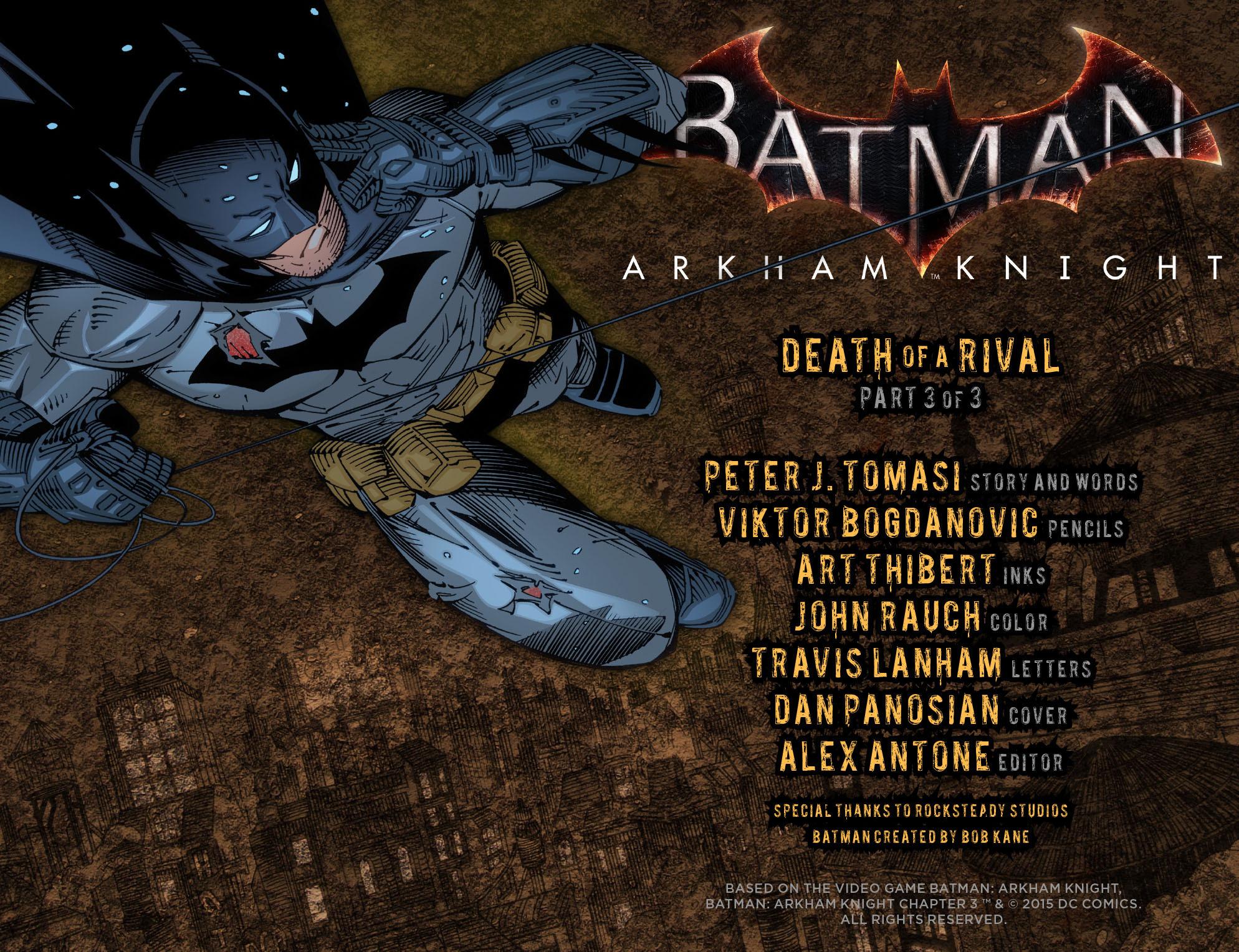 Batman: Arkham Knight [I] Issue #3 #5 - English 2