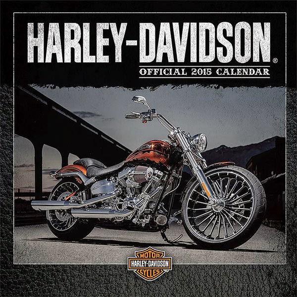 Calendario 2015 Harley Davidson