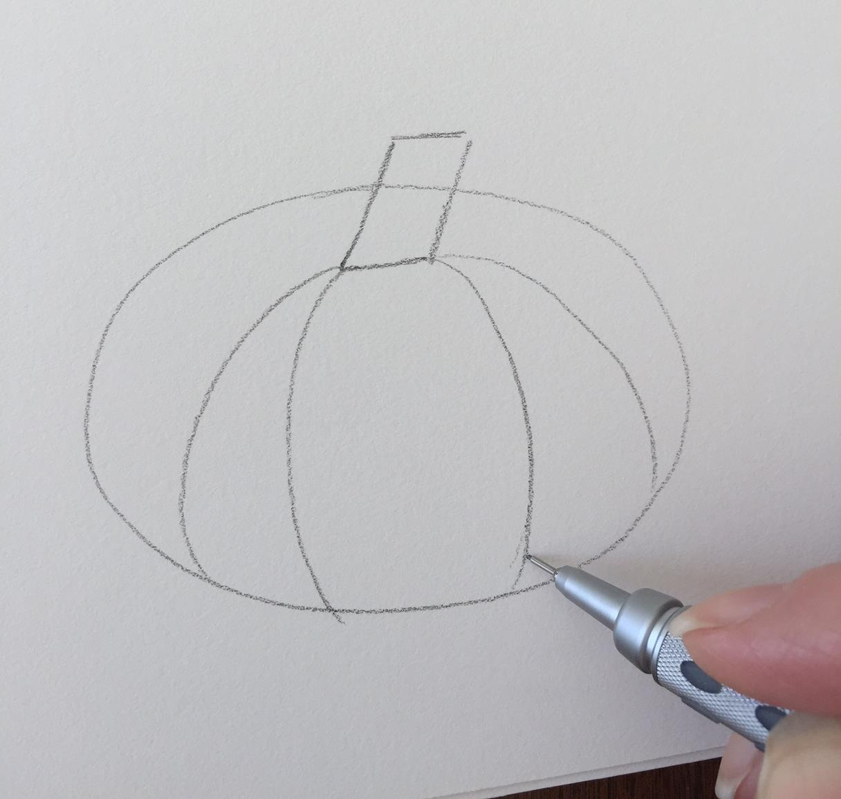 how to draw a rhombus in a rectangle