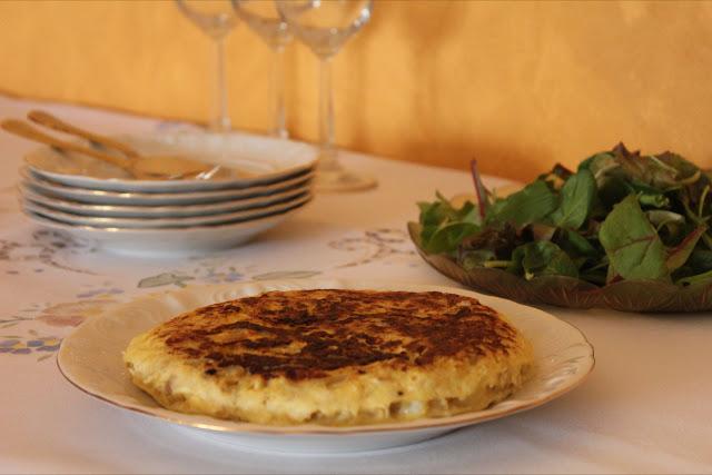 Tortilla-bacalao