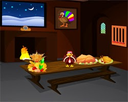 Juegos de Escape Thanksgiving Day Escape