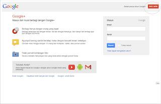 Cara Mendaftar / Membuat Akun Google Plus