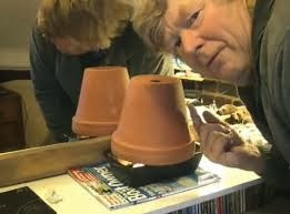 How T Heat A Room Tea Lights Clay Pots