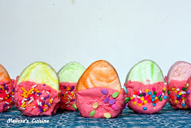 Melissa's Cuisine:  Frosted Marshmallow Eggs