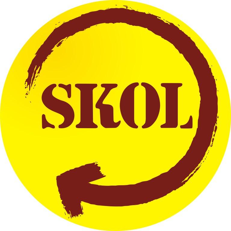 Rótulo de cerveja Logo+slkol