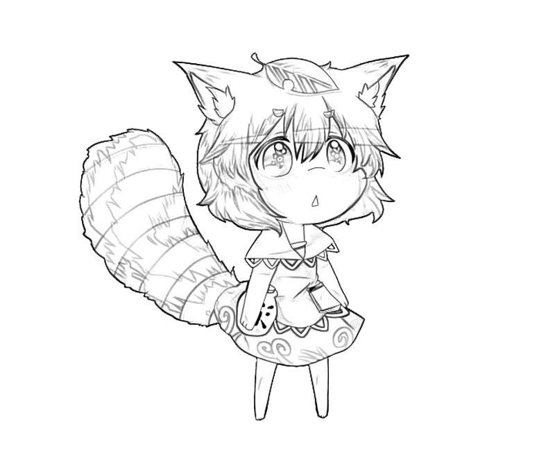 mamizou-futatsuiwa-cute-coloring-pages