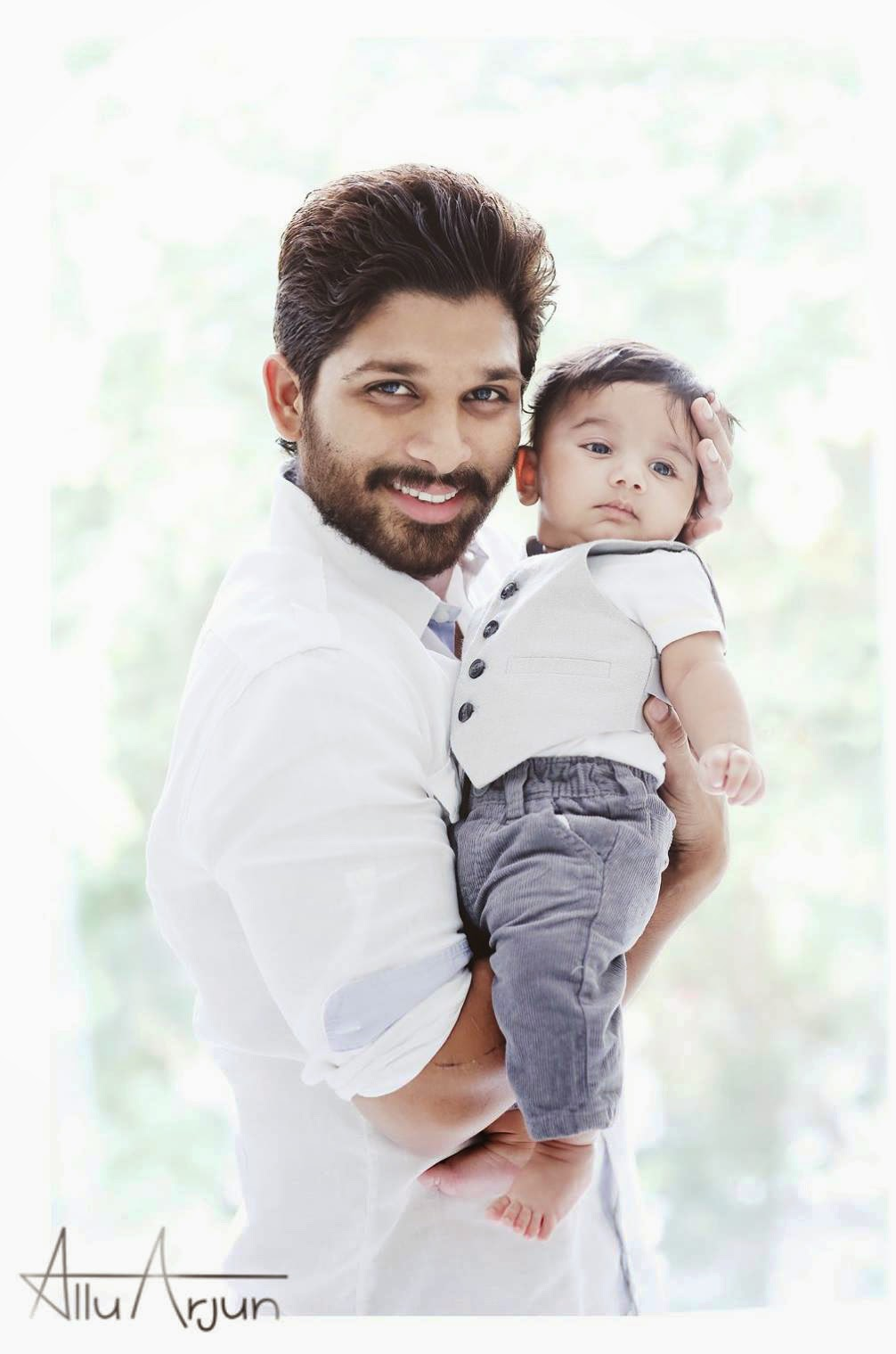 allu arjun with his son ayaan stylish star allu arjun has revealed his ...