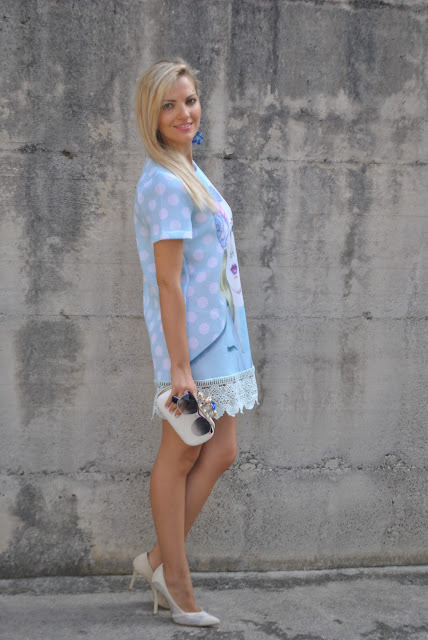 outfit bon ton abito bon ton ragazze bon ton abito ladylike abito romantico mariafelicia magno fashion blogger colorblock by felym fashion blog italiani fashion blogger italiane ragazze bionde blonde hair blonde girls outfit estivi outfit settembre 2015 summer outfit summer dresses