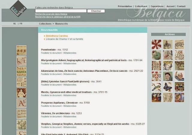 http://belgica.kbr.be/fr/coll/ms/bibliotecaCarolina_fr.html