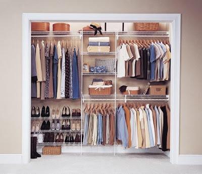Dise o closets para dormitorios decoracion de salas for Closet de madera para dormitorios