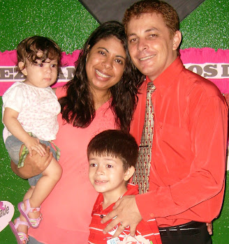Pr.Eliseu Alves e Família