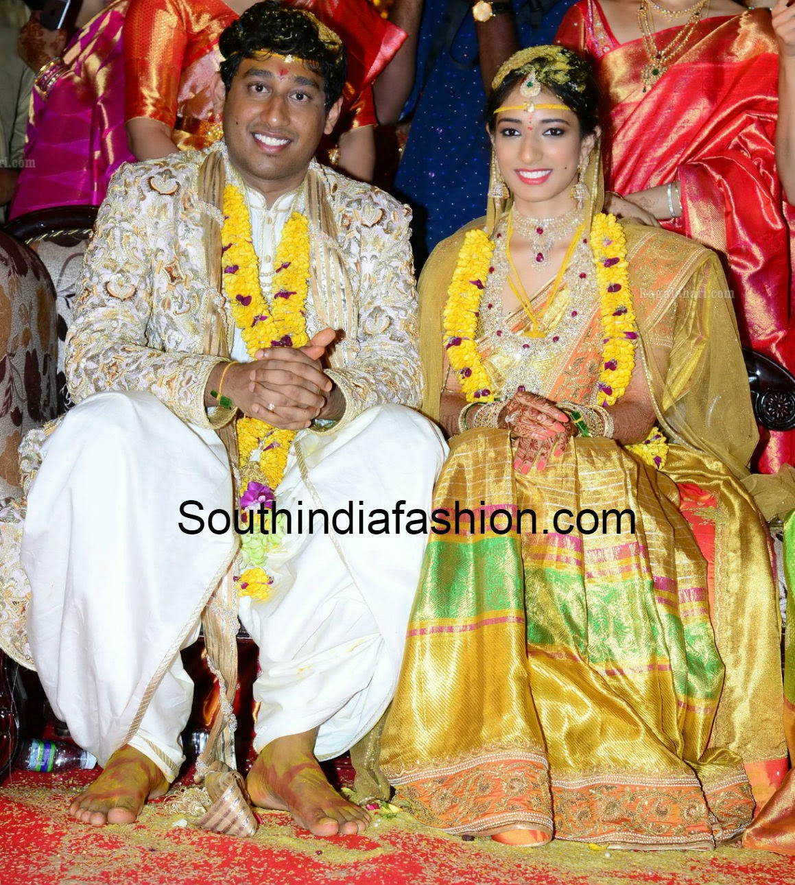 danam nagender daughter mansiha wedding photos