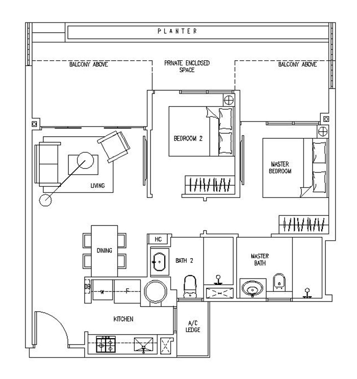 Latitude Condos The Nautical Floor Plans