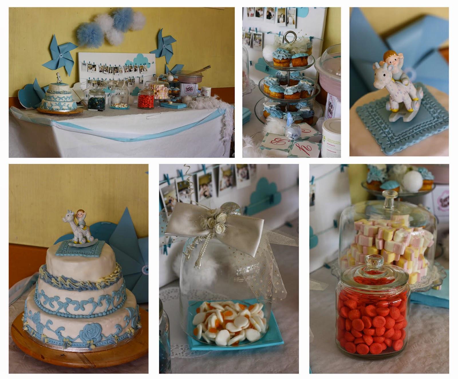 Baby shower candy table displays grosir baju surabaya - Decoration bapteme garcon ...