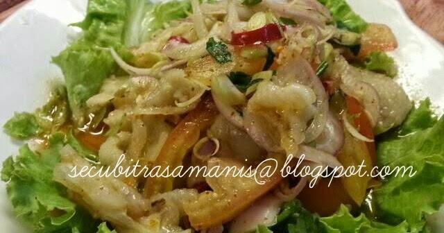 Resepi masakan kegemaran kerabu kaki ayam di restoren for Alissara thai cuisine