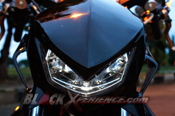 Foto Modifikasi Yamaha Mio Bergaya Matic Fighter Futuristik