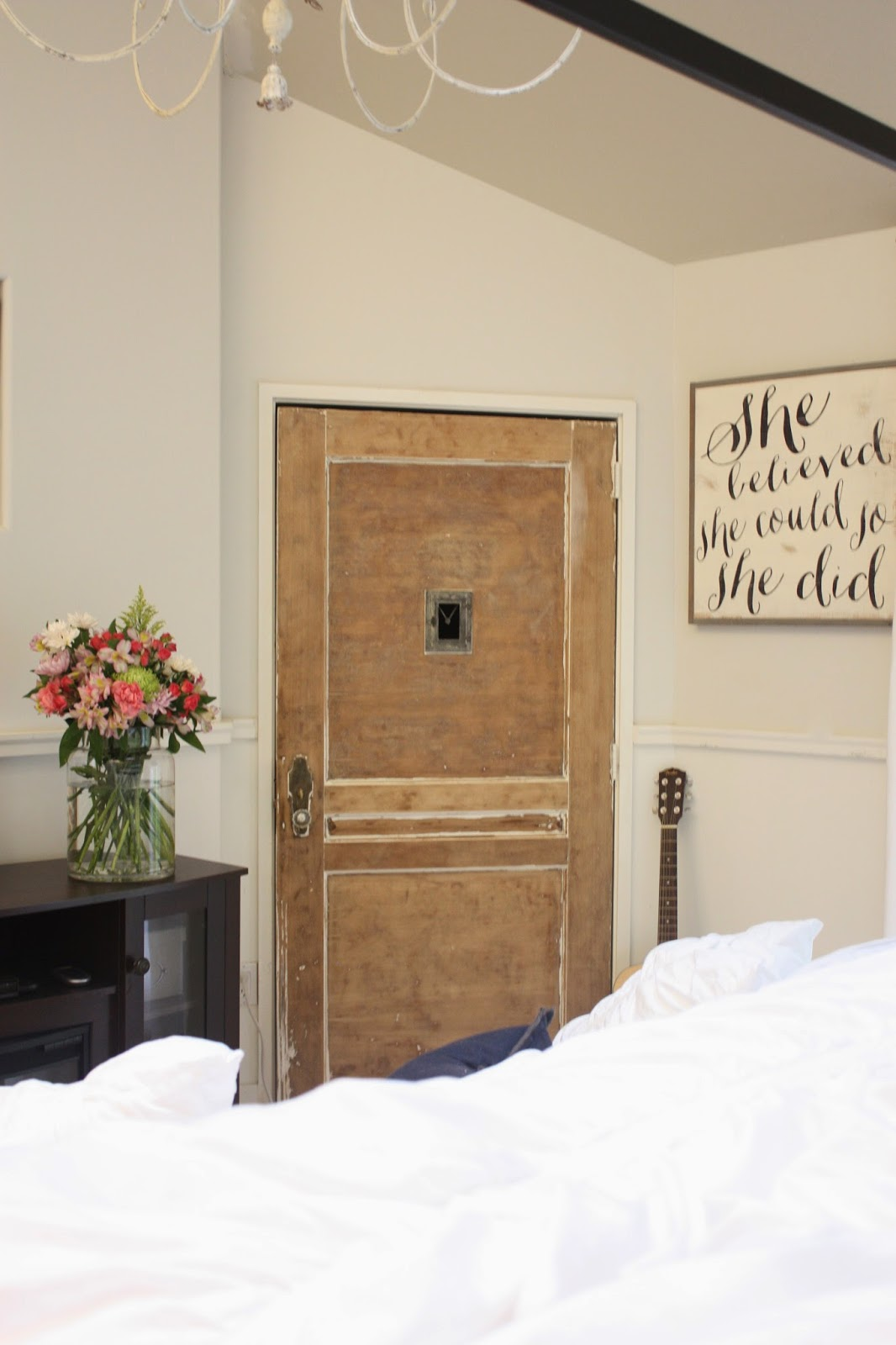My sweet savannah painting interior doors black - I Stripped All The Paint Off Her Antique Closet Door And Left It As Is