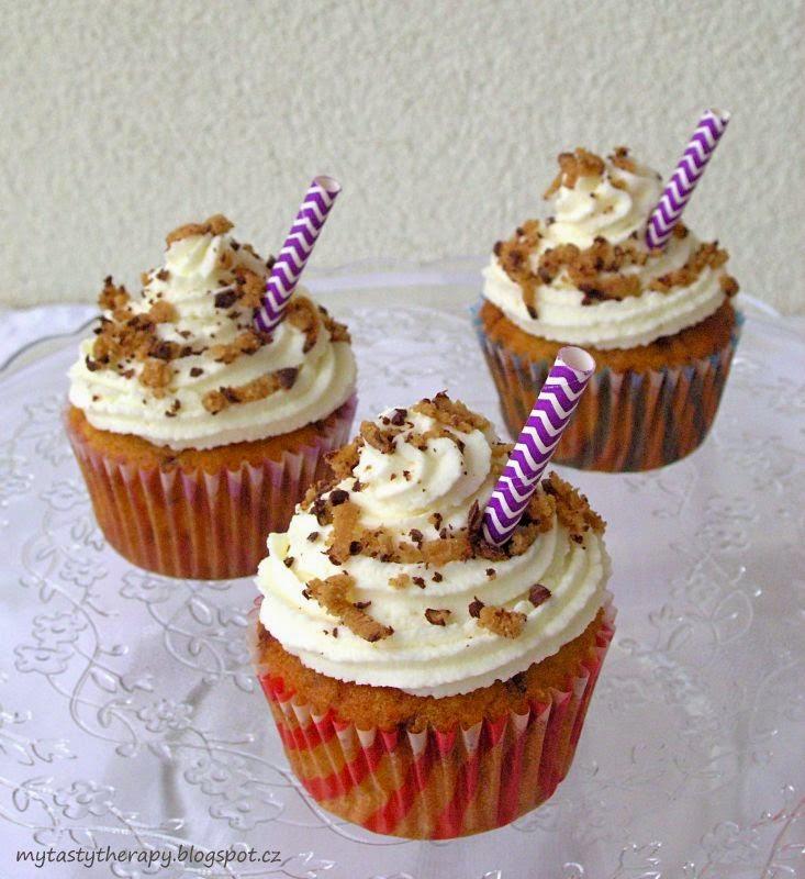 tropické cupcakes