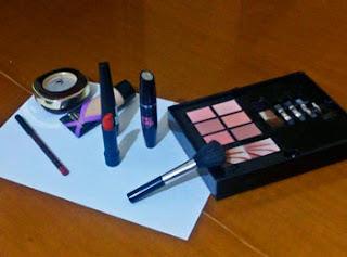 maquillaje inspiracion ira materiales