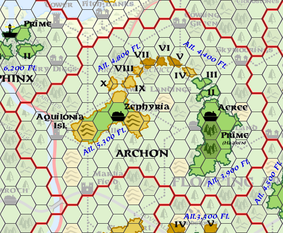 Mystara Alphatia Ar Archon Map
