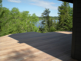 Ipe deck, lake, scenic view over lake, http://huismanconcepts.com/