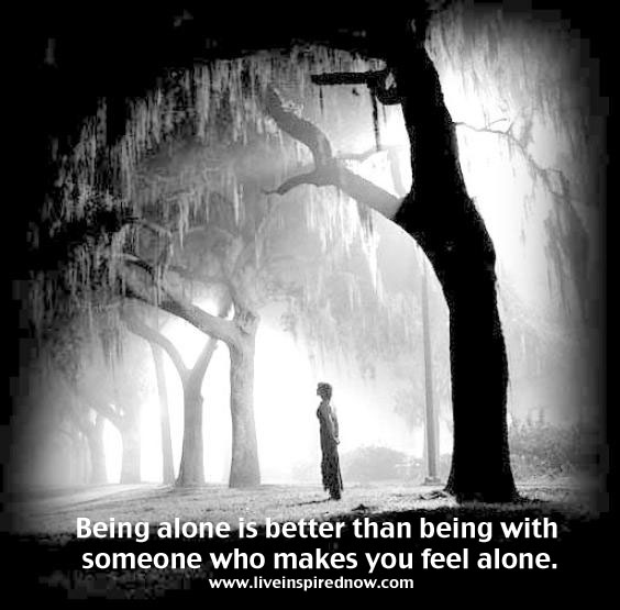 """being alone never felt so wrong For many of us, the idea of being alone conjures up a sense of dread  """"we all  feel lonely, but chronic, pathological loneliness is a deeply  of their time  entertaining others, they haven't learned how to entertain themselves."""