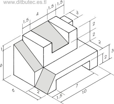Expresi n gr fica dibujo isometrico for Programa para dibujar planos facil