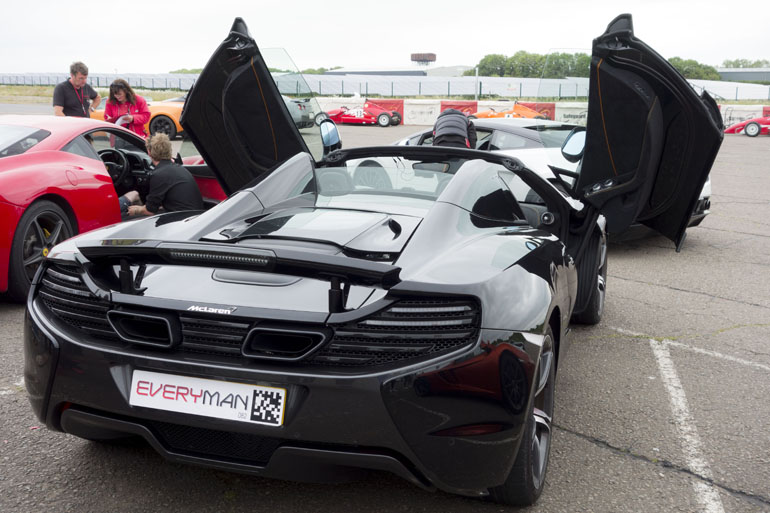 Father's Day | Debenhams Supercars Gift Experience