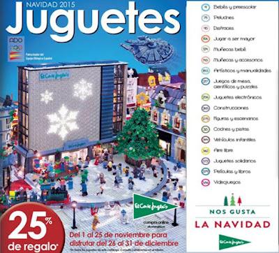 catalogo juguetes de navidad 2015 ECI