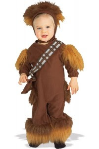 Chewbacca Star Wars Baby Costume