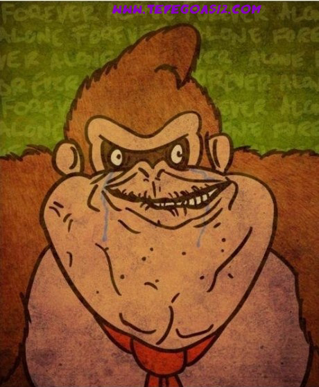 Doneky kong alone