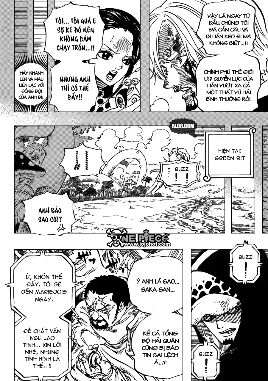 One Piece Chapter 712: Violet 012
