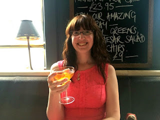 Jamie's Italian Nottingham Review | Morgan's Milieu: Cheers! I enjoy more of my Stiletto Manhattan.